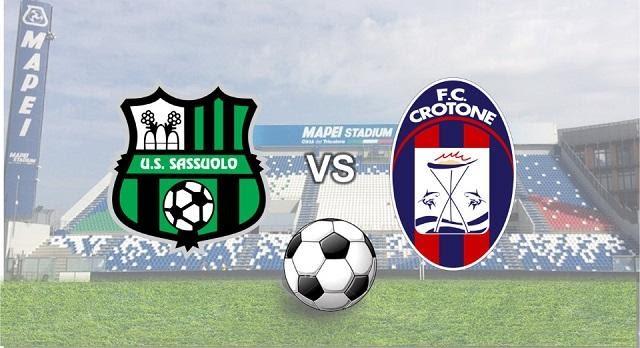 Soi koo Sassuolo vs Crotone, 03/10/2020