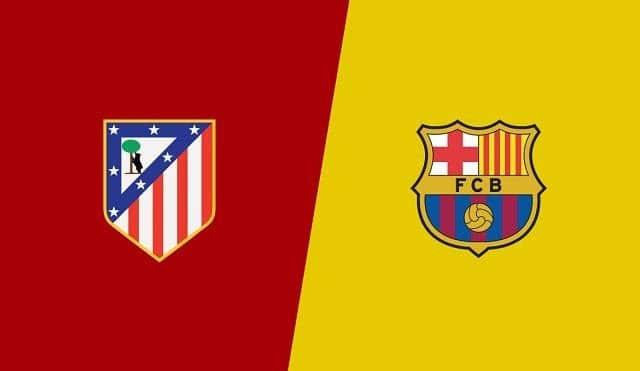 Soi keo Atl. Madrid vs Barcelona, 22/11/2020