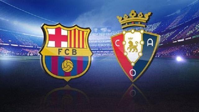 Soi keo Barcelona vs Osasuna, 29/11/2020