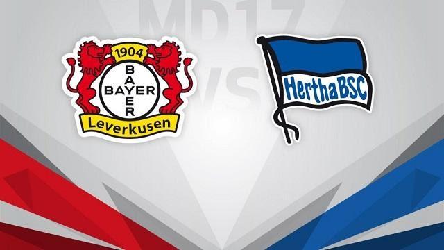 Soi kèo Bayer Leverkusen vs Hertha BSC, 28/11/2020