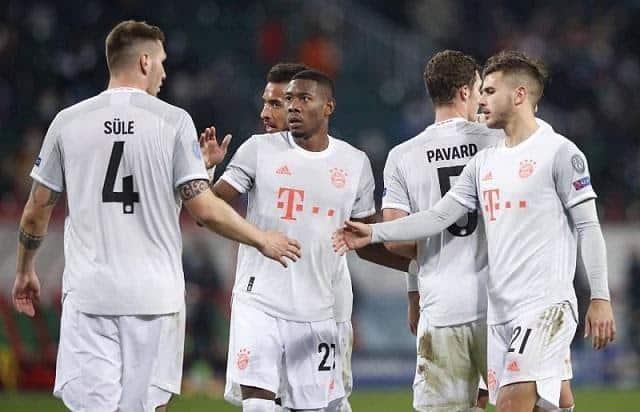 Soi keo Bayern Munich vs Salzburg, 26/11/2020