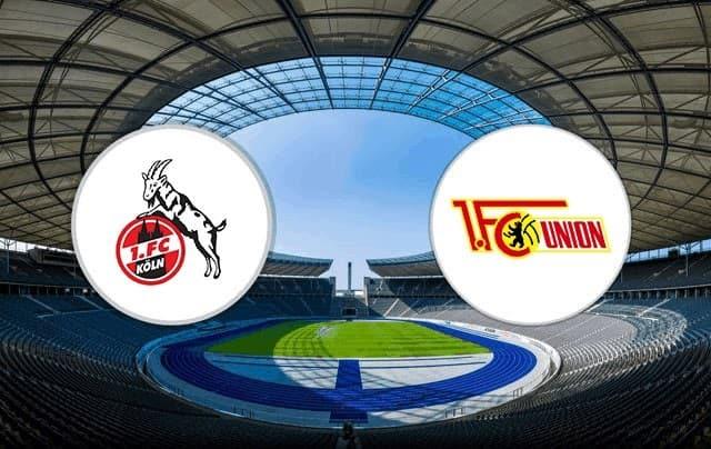 Soi keo Cologne vs Union Berlin, 21/11/2020