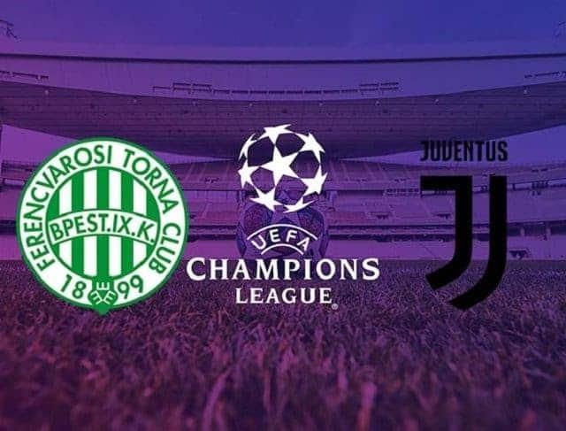 Soi kèo Ferencvaros vs Juventus, 05/11/2020