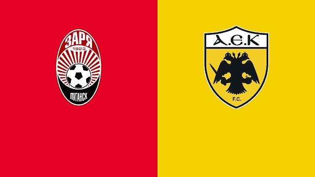 Soi ko Zorya vs AEK Athens, 06/11/2020
