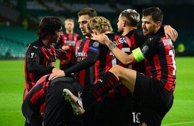 Soi keo AC Milan vs Celtic, 4/12/2020