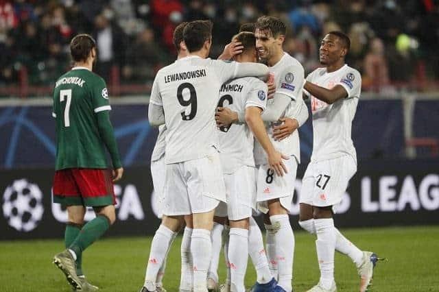 Soi keo Bayern Munich vs Lokomotiv Moscow, 10/12/2020