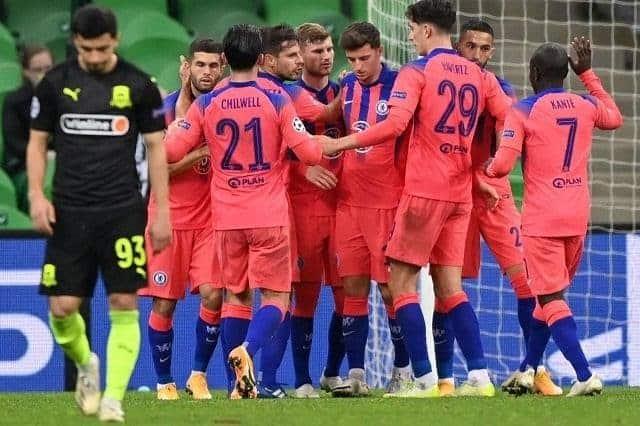 Soi keo Chelsea vs Krasnodar, 09/12/2020
