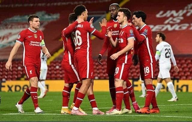 Soi kèo Midtjylland vs Liverpool, 10/12/2020