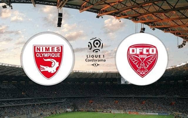 Soi keo Nimes vs Dijon, 24/12/2020