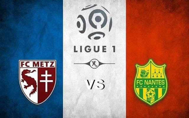 Soi keo Metz vs Nantes, 24/01/2021