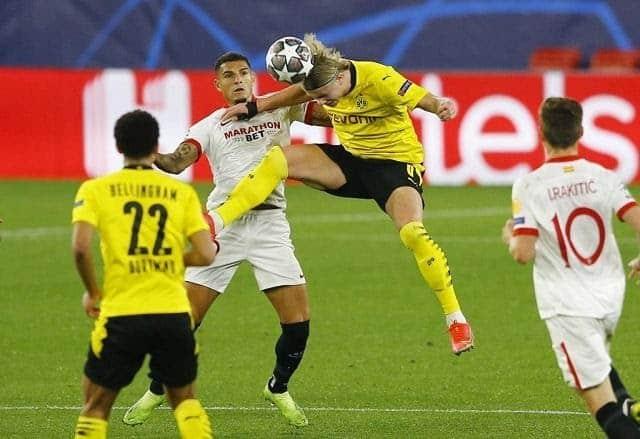 Soi keo Dortmund vs Sevilla, 10/03/2021