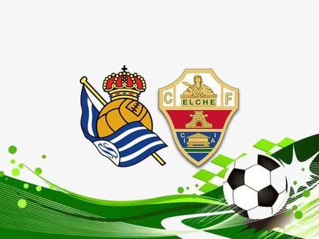 Soi keo Real Sociedad vs Elche, 08/05/2021
