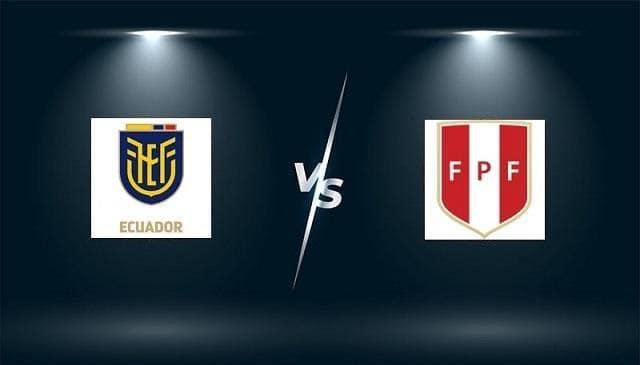 Soi keo Ecuador vs Peru, 24/06/2021